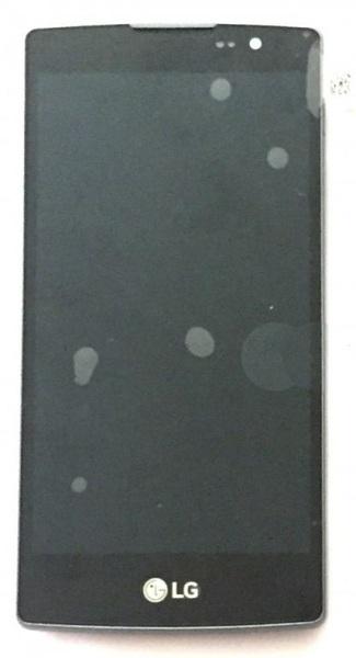 Дисплей в сборе с тачскрином для LG Spirit (H422) + frame (черный)