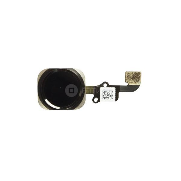 Шлейф кнопки Home iPhone 6 в сборе с кнопкой (черный)