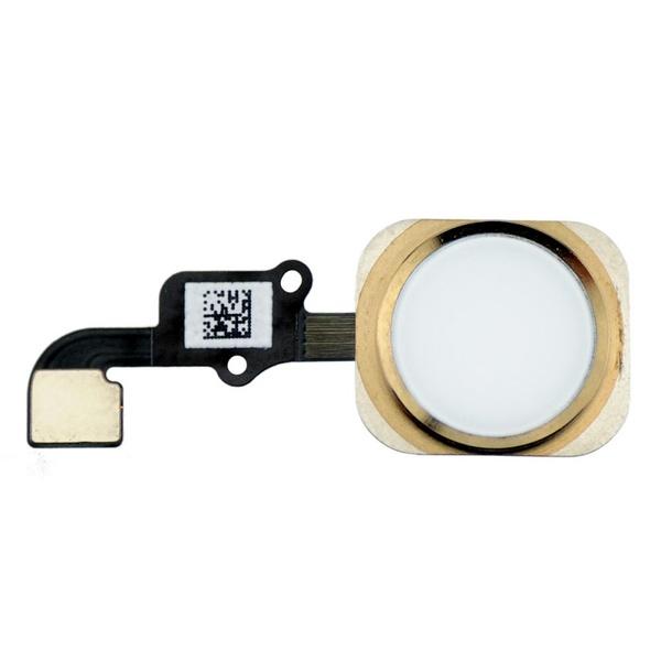 Шлейф кнопки Home iPhone 6 в сборе с кнопкой (золото)