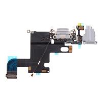 Шлейф для iPhone 6  разъем зарядки (Белый)