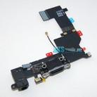 Шлейф для iPhone 5S разъем зарядки (черный) оригинал