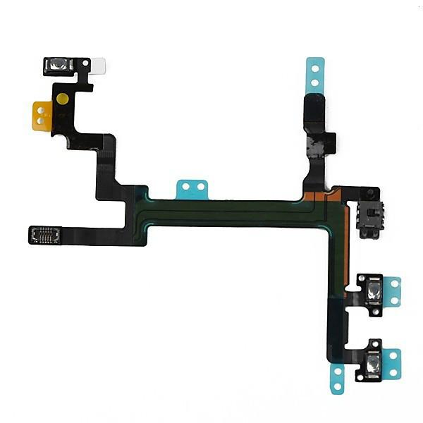 Шлейф для iPhone 5S кнопка вкл/выкл(Оригинал)