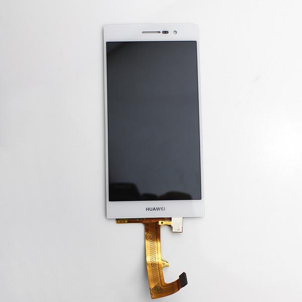 Дисплей в сборе с тачскрином Huawei Ascend P7 (белый) original