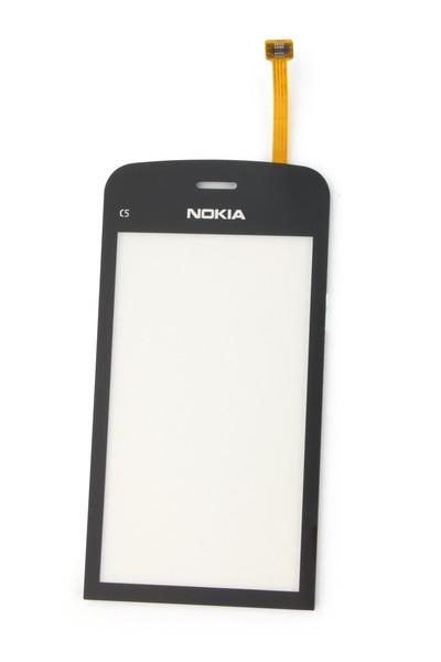 Тачскрин для Nokia C5-03 / C5-06 (оригинал) белый / черный