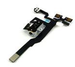 Шлейф для iPhone 4S разъем для наушников (черный) ориг
