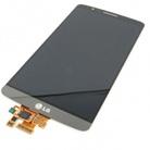 Дисплей в сборе с тачскрином для LG G3 (D855) + frame (titan grey)