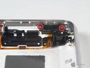 Шлейф iPhone 3G/3GS кнопки громкости + вкл/выкл (черный)