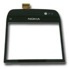 Тачскрин для Nokia E6-00 (серебро / черный)
