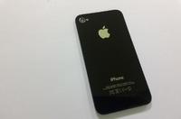 Задняя крышка для iPhone 4S (черный)