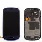 Дисплей в сборе с тачскрином Samsung Galaxy S3 mini i8190i + frame (blue)