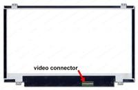 """Матрица (N140FGE LA2) 14,0"""" 40pin (right-down) LED 1600x900 Матовая Slim внешн плата крепл. верх-низ"""