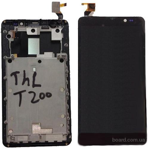 Дисплей для THL T200 с тачскрином (FullHD)