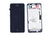 Дисплей в сборе с тачскрином Huawei Ascend W2 (черный)