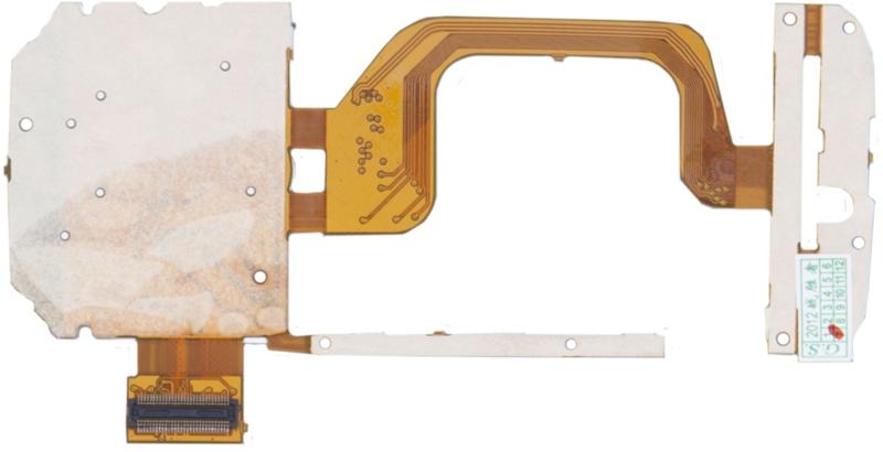 Шлейф для Nokia 5730 с мембраной