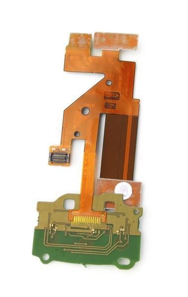 Шлейф для Nokia 6500 Slide с мембраной и камерой (оригинал)